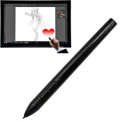 Huion P80 Wireless USB Digital Pen Stylus Rechargeable Mouse Digitizer Pen for Graphics Tablet(Black)