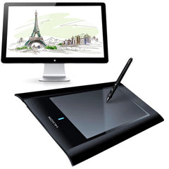 HUION W58 Professional Wireless 8 x 5 inch 2048 Levels 5080 LPI Resolution Graphics Tablet Board with Digital Pen