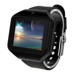 KEN XIN DA S-watch Smart Watch Phone 2.0 inch QCIF Touch Screen Support Bluetooth FM Radio MP4 Digital Camera GSM(Black)