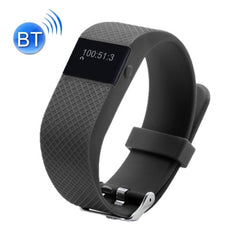 TW64S Waterproof Bluetooth 4.0 Heart Rate Smart Health Bracelet Support Pedometer / Sleep Monitoring / Call Reminder / Clock / Remote Camera / Anti-lost Compatible with iOS and Android System(Black)