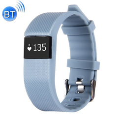 TW64S Waterproof Bluetooth 4.0 Heart Rate Smart Health Bracelet Support Pedometer / Sleep Monitoring / Call Reminder / Clock / Remote Camera / Anti-lost Compatible with iOS and Android System (Grey Blue)
