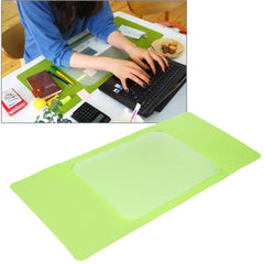 Multi-Functional Office / Home Desk Table Keyboard Mat(Green)