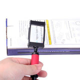 5X Handheld & Hands Free Metal Frame Magnifier (Size: 140x35x17mm)