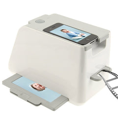 iPhotojet Smartphone Photo and Negative Scanner for iPhone 5 / iPhone 4 & 4S / Samsung Galaxy S II / Galaxy SIII(White)