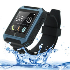 U TERRA 1.54 inch TFT Screen BT4.0 Waterproof / Dustproof / Shockproof Fashion Smart Watch for Android / iOS OS Smartphone(Blue)