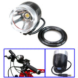 CREE T6 LED 900 Lumens Super Bright Bike Lights / Mountain Bike Lights / Highway Lights(Silver)