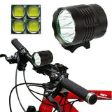 3 Mode Bicycle Lamp / Head Lamp with 4x CREE XM-L T6 LED Light Luminous Flux: 4800lm