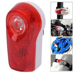 3 LED Bike Flash Rear Light Safety Light with Different Flashing Modes