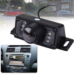 2.4G Wireless DVD Car Rear View Night Vision Reversing Backup Camera with 7 LED  Wide viewing angle: 120°(WX320EBS)(Black)