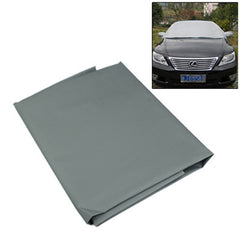 High Quality Auto Snow Shield for Winter Use Size: 200x70cm(Grey)