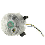 CPU Aluminum Cooling Fan for Intel Core 2 & Intel LGA775 4-pin