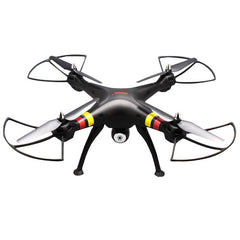 SYMA X8W 4-Channel 360 Degree Flips 2.4GHz Radio Control Mini Quadcopter with 6-axis Gyro / FPV Camera / WiFi(Black)