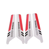 Replace Main Red Color Blades Set for Syma S107 RC Helicopters(Red)
