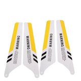 Replace Main Yellow Color Blades Set for Syma S107 RC Helicopters(Yellow)