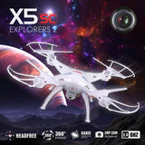 Syma X5SC Explorers 2 RC  Headless Quadcopter (Black) - Zasttra.com - 8