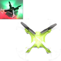 SYMA X12S 4-Channel 360 Degree Flips 2.4GHz Radio Control Mini Quadcopter with 6-axis Gyro / LED(Green)