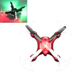 SYMA X12S 4-Channel 360 Degree Flips 2.4GHz Radio Control Mini Quadcopter with 6-axis Gyro / LED(Red)