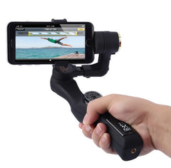SP2 2 Axis Handheld Brushless Video Camera Stabilizer Beholder Phone Gimbal(Black)