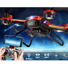 JJRC H12W-A WiFi FPV 2.0MP Camera 6-axis Gyro 4-Channel 2.4GHz Radio Control Quadcopter