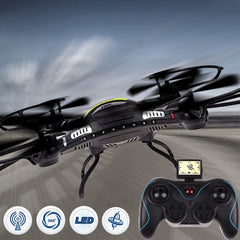 JJRC H8C-1 6-axis Gyro 4-Channel 2.4GHz RC Mini Quadcopter(Black)