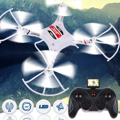 JJRC H8C-1 6-axis Gyro 4-Channel 2.4GHz RC Mini Quadcopter(White)
