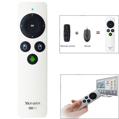 Measy RC9 Gyroscope Mini Air Mouse 2.4G RF Wireless for Android TV Box PC(White)