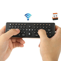 EA-02 2 in 1 2.4GHz Wireless Air Mouse + Keyboard for PC / TV / Media Player / Android TV BOX Size: 161 x 51 x 20mm