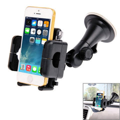 Universal 360 Degree Rotation Suction Cup Car Holder / Desktop Stand for iPhone 5 & 5S & 5C / iPhone 4 & 4S / Other Mobile Phones / MP4 / PDA Width: 5.1cm- 10.5cm