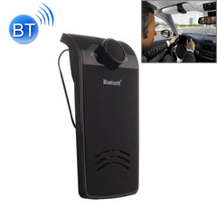 BY-01 Car Bluetooth Hands-free Kit with Car Charger Support Music Play & Hands-free Answer Phone Function(Black)