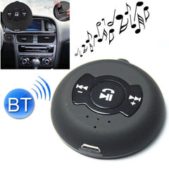 Universal Multi-point (2-in-1) Car Bluetooth Music Receiver(Black)