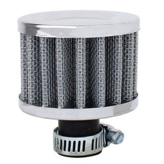 MZ 50mm Universal Mushroom Head Style Air Filter for Car(Silver)