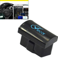 Mini ELM327 Interface Viecar 2.0 OBD2 Bluetooth Auto Diagnostic Scanner Tool Support Android / Windows(Black)