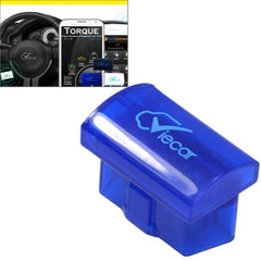 Mini ELM327 Interface Viecar 2.0 OBD2 Bluetooth Auto Diagnostic Scanner Tool Support Android / Windows(Dark Blue)