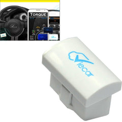 Mini ELM327 Interface Viecar 2.0 OBD2 Bluetooth Auto Diagnostic Scanner Tool Support Android / Windows(White)