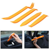 4 in 1 Car Audio System Dashboard Door Panel Removal Tools Kit(Orange) - Zasttra.com - 1