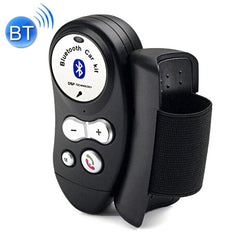 Steering Wheel Car Bluetooth Hands-free Kit Support Music Play & Hands-free Answer Phone(Black)