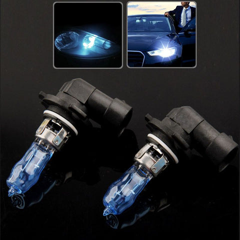 9005 Halogen Bulb, Super White Car Headlight Bulb, 12 V / 100W, 5500K (Pair)