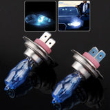 H7 Halogen Bulb, Super White Car Headlight Bulb, 12 V / 100W, 5500K (Pair)