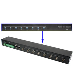8 Channel Active Twisted Pair Video Reciever