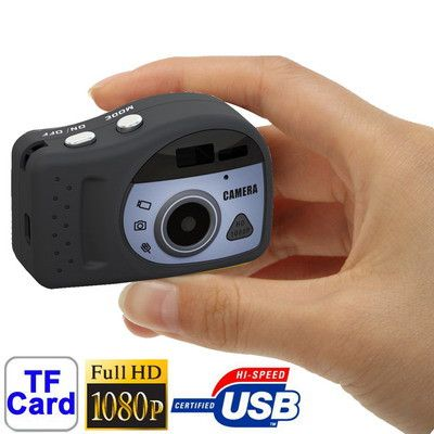 T7000 1080P Mini Digital Camera / Mini DV , 3.0 Mega Pixels