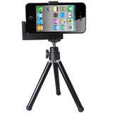iPhone /Camera Tripod /Universal Mounting Metal Holder(Black)