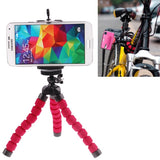 Flexible Octopus Bubble Tripod Holder Stand Mount for Mobile Phone / Digital Camera