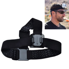 Dazzne DZ-313 Elastic Adjustable Head Strap Belt with 360 Degree Rotatable Mount for GoPro HERO4 /3+ /3 /2 /1 Digital Camera(Black)