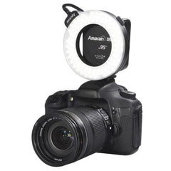 Aputure AHL-HC100 Higher CRI 95+ Value Amaran Halo LED Ring Flash Light for Canon