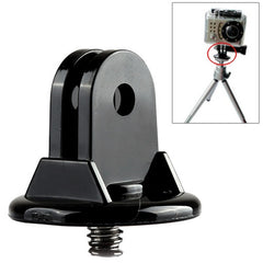 Mini Tripod Screw Mount Adapter Monopod for GoPro Hero 4 / 3+ / 3 / 2 / 1(Black)