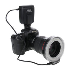 FC100 MEKE LED Macro Ring Flash for Canon / Nikon DSLR Cameras(Black)