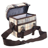 Digital Camera Shoulder Bag Canvas Carry Case for Nikon / Canon / Sony / SLR DSLR Lens