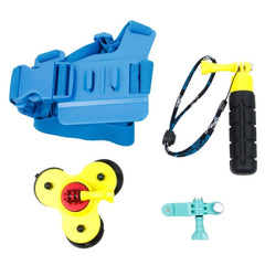 EBL015 TMC 4 in 1 Set Chest Belt + Suction Cup + Grenade Grip + Screw Bolt for GoPro HERO4 / 3+ / 3