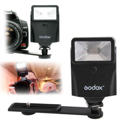 Godox Professional Digital Slave Flash with HotShoe Speedlite Bracket (CF-18)(Black)