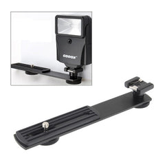 Metal Flash Bracket for DSLR Camera(Black)